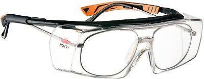 NoCry Over-Spec Safety Glasses With Anti Scratch Wrap-Around Lenses, ANSI Z87