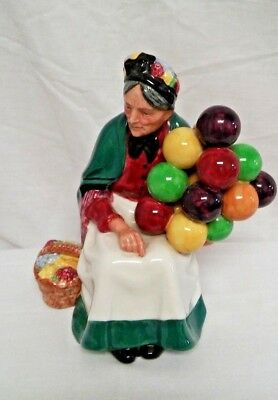 Nice! Royal Doulton - The Old Balloon Seller Porcelain Figurine - H. N. 1315