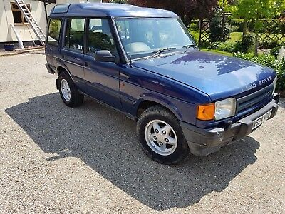 Landrover Discovery 300tdi 1995 2 owners 1 YEAR MOT