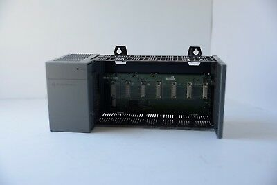Allen Bradley Slc 500 7-Slot Rack With Power Supply 1746-A7 Ser A