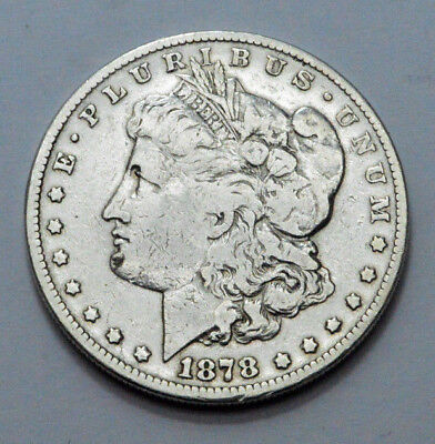 1878-S  Morgan Dollar Silver Coin Superb Old US Coin, Polished, No Reserve!