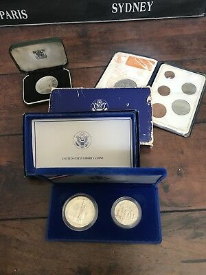 coins Misc silver US And British