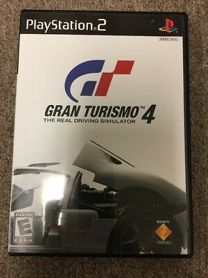 Gran Turismo 4 The Real Driving Simulator For PS2