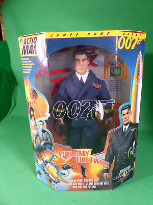 """Action Man - James Bond - You only live twice - Action Figure 12"""" - mint in Box"""