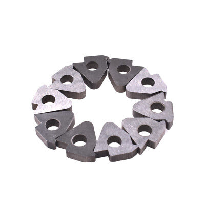 Carbide Insert Cutter Alloy tool shim STM1603 Fits Woodturning Tools 10 Pcs