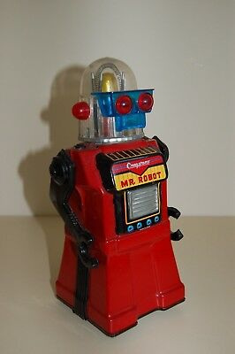 Vintage Cragstan, Mr Robot Futuristic Space Tin Toy, Japan circa1960.