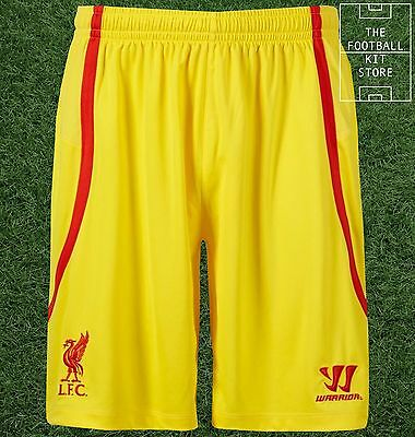 Liverpool Away Shorts - Genuine Warrior LFC Football Shorts - Mens - All Sizes