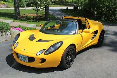 2006 Lotus Elise Touring Package Loaded: Touring Pkg. Hard&Soft top, Star Shield, Pwr door, Windows, Security sys