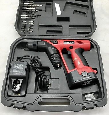 Mansfield 11-707 18v Cordless Dual Head Drill (Made by Tool Users for Tool Users