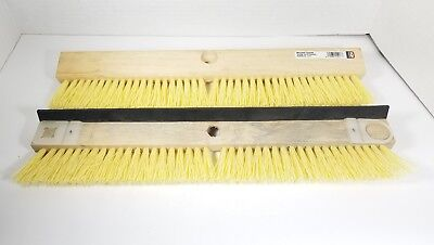 "DQB Lot of 2 Professional Driveway Coater 18"" Brush Spreader Squeegee #11917"