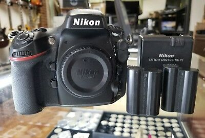 Nikon D D800 36.3MP Digital SLR Camera - Black (Body Only)