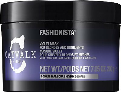 Tigi Catwalk Fashionista Violet Mask For Blondes and Highlights 7.05 oz