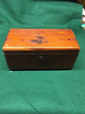 Vintage Lane Cedar Chest Box mini Miami Furniture Company