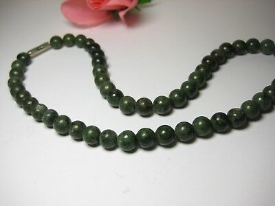 Necklace Antique Jade 100% Natural Jewelry Pearls Necklace Stone