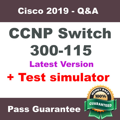 Cisco CCNP Switch Exam Dump for 300-115 Exam Q&A PDF + VCE (2018 Verified)