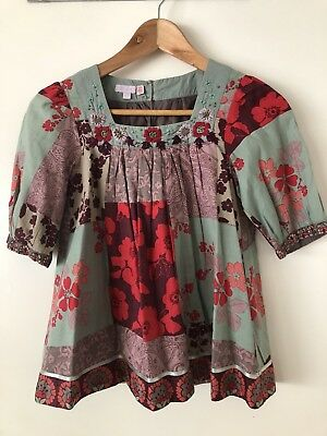 Girls Monsoon Top Size 9-10 Excellent Condition