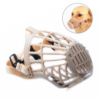Adjustable Fence Type Dog Muzzle Anti Bark Bite Chew Mouth Mask Pet Supplies All