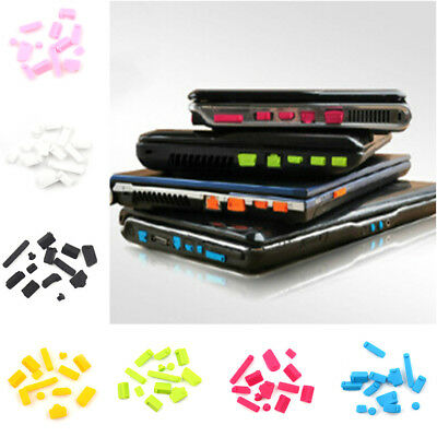 2Set Ports Cover Set Silicone Anti Dust 13Pcs Plug Stopper For Laptop NotebookFT