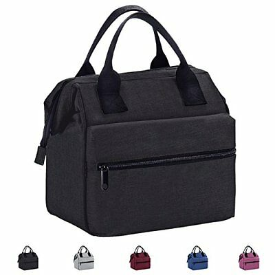 Lunch Box Insulated Bag Meal Prep Tote Bo Multiple Carry Options New