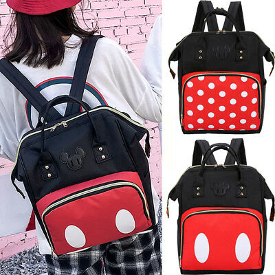 Maternity Nappy Baby Diaper Bag Large Capacity Baby Mummy Bags Travel Backpack