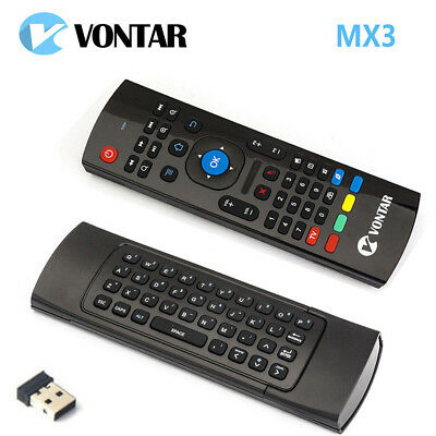 MX3 Fly Air Mouse Wireless Keyboard Remote Control For MXQ X96 mini Android TV