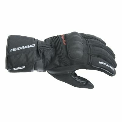Dririder Adventure 2 touring road motorcycle gloves black ALL SIZES