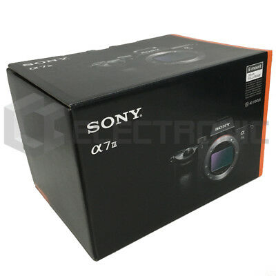 Nuovo Sony Alpha a7 III Mirrorless Fotocamere digitali (Body Only)
