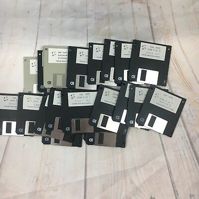 Floppy Disk 2.5 Lot Of 22 Good Used Condition