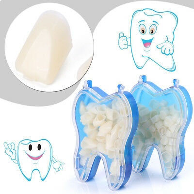2boxes Temporary Crowns Posteriors Anterior Molar Resin Tooth Teeth Caps Dental