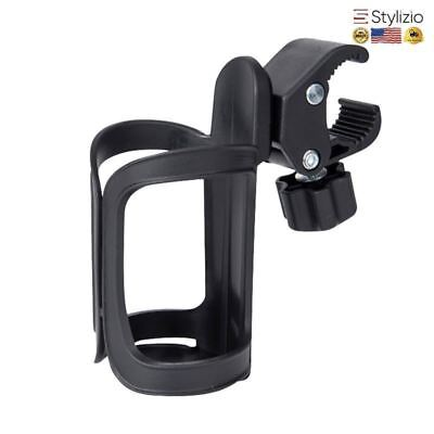 NEW Baby Stroller Accessories & Parts Bottle Cup Holder Fixed Mount Universal Fo