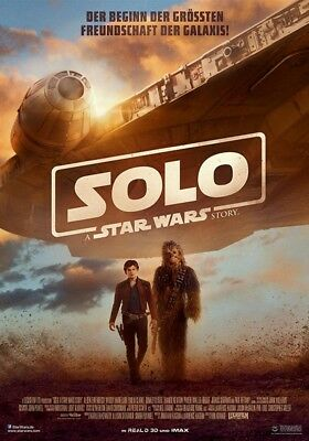 Solo - A Star Wars Story ~ Filmposter A0 - Han Solo - Groß!