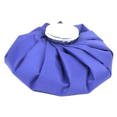 9 inch ice bag cold pack for sports injuries neck knee pain relief (blue) K3H8