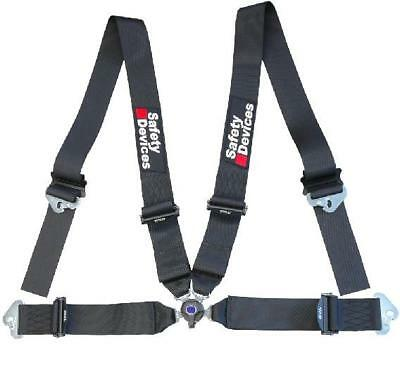 Safety Devices FIA Approved 4 Point Lightweight Harness