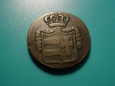 German States - Silver - 1831 1/2-Grote In Very Nice Condition