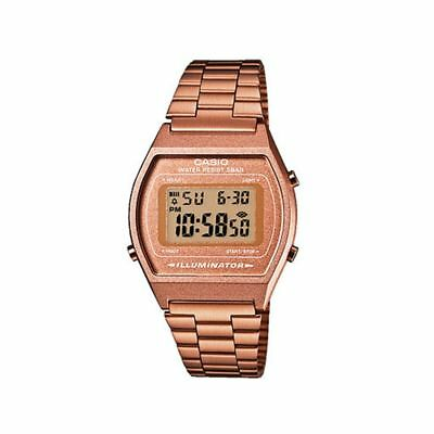 Casio Classic Rose Gold Tone Unisex Watch, B640WC-5AEF, Multi Alarm, Timer