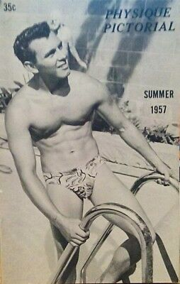 Physique Pictorial Summer 1957 gay interest Magazine last one!