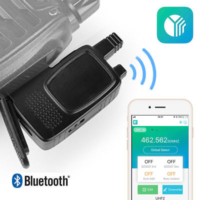Bluetooth Wireless Programming Adapter For Baofeng BF-888S Ham Two way Radio