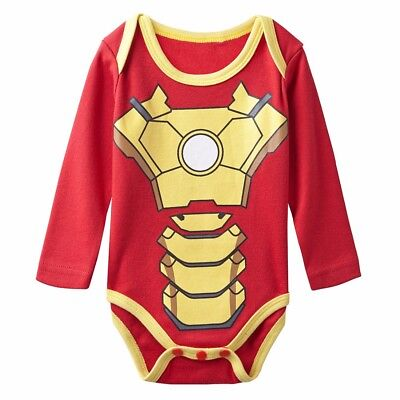 Marvel Comics / Iron Man - Ranita Bebé / Pelele / Body / Baby Romper