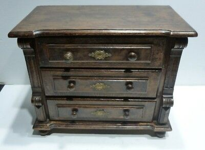 Beautiful and Old Small COMMODE Solid wood for House in Doll