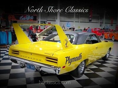 Superbird -1 OWNER-ROTISSERIE RESTORED DOCUMENTED GALEN'S RE 1970 Plymouth Superbird, Lemon Twist with 36,717 Miles available now!