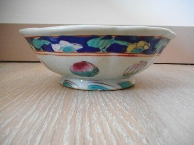 Assiette bol bowl porcelaine Chine china chinese japan japon plate porcelain