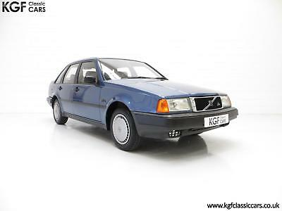 An Exceptional Volvo 440 1.6Li with One Owner and 29,812 Miles from New