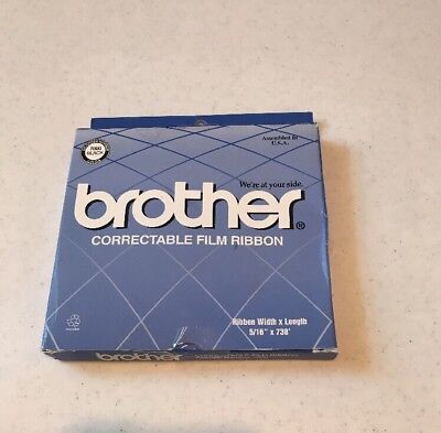 Brother 7020 black Correctable Film Ribbon New