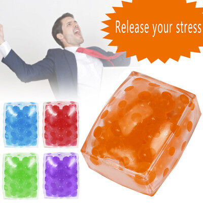 Spongy Bead Anti Stress Ball Toy Squeezable Squishy Toy Stress Relief Ball