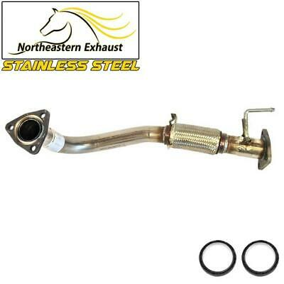 Stainless Steel Exhaust Front Flex Pipe fits: 1998 - 2002 Honda Accord 2.3L