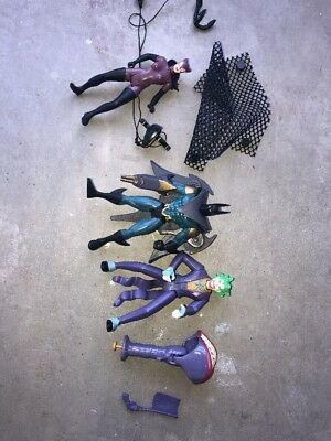 Kenner Batman Legends Figure Lot Complete(?) Joker Catwoman