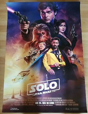 Solo - A Star Wars Story ~ Filmposter A1 - Han Solo
