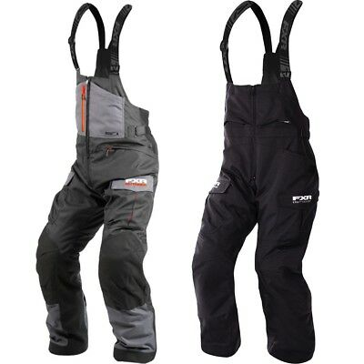 FXR Racing Excursion Insulated Mens Skiing Winter Snowmobile Pants Bibs