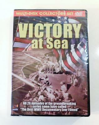 Victory At Sea (DVD, 2005, 3-Disc Set) All 26 Episodes ~ New & Factory Sealed