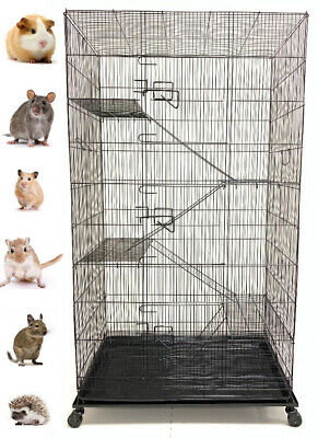 "55"" Large 5-Level Ferret Chinchilla Sugar Glider Rats Mice Squirrel Hamster Cage"